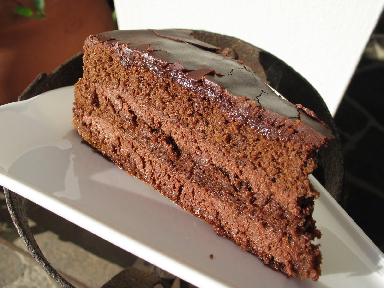 Non si fanno balletti in cucina: torta con cioccolato