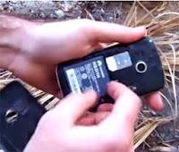 prender fuego con el telefono celular
