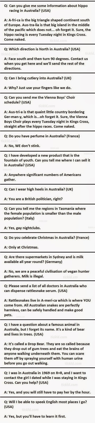 20 Question For Travel to Australia