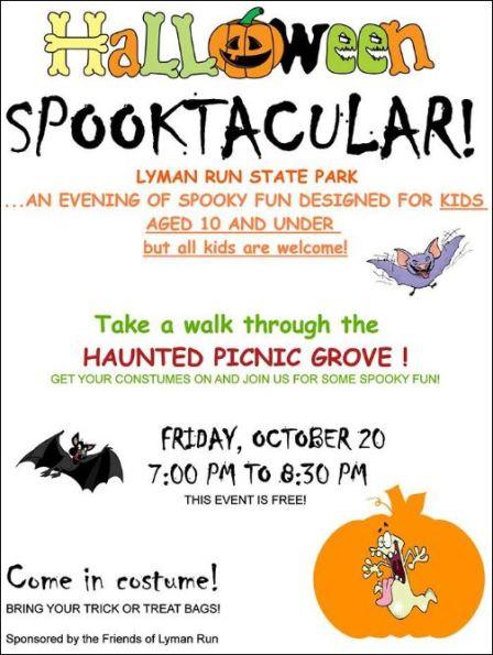 10-20 Halloween Spooktacular, Lyman Run SP
