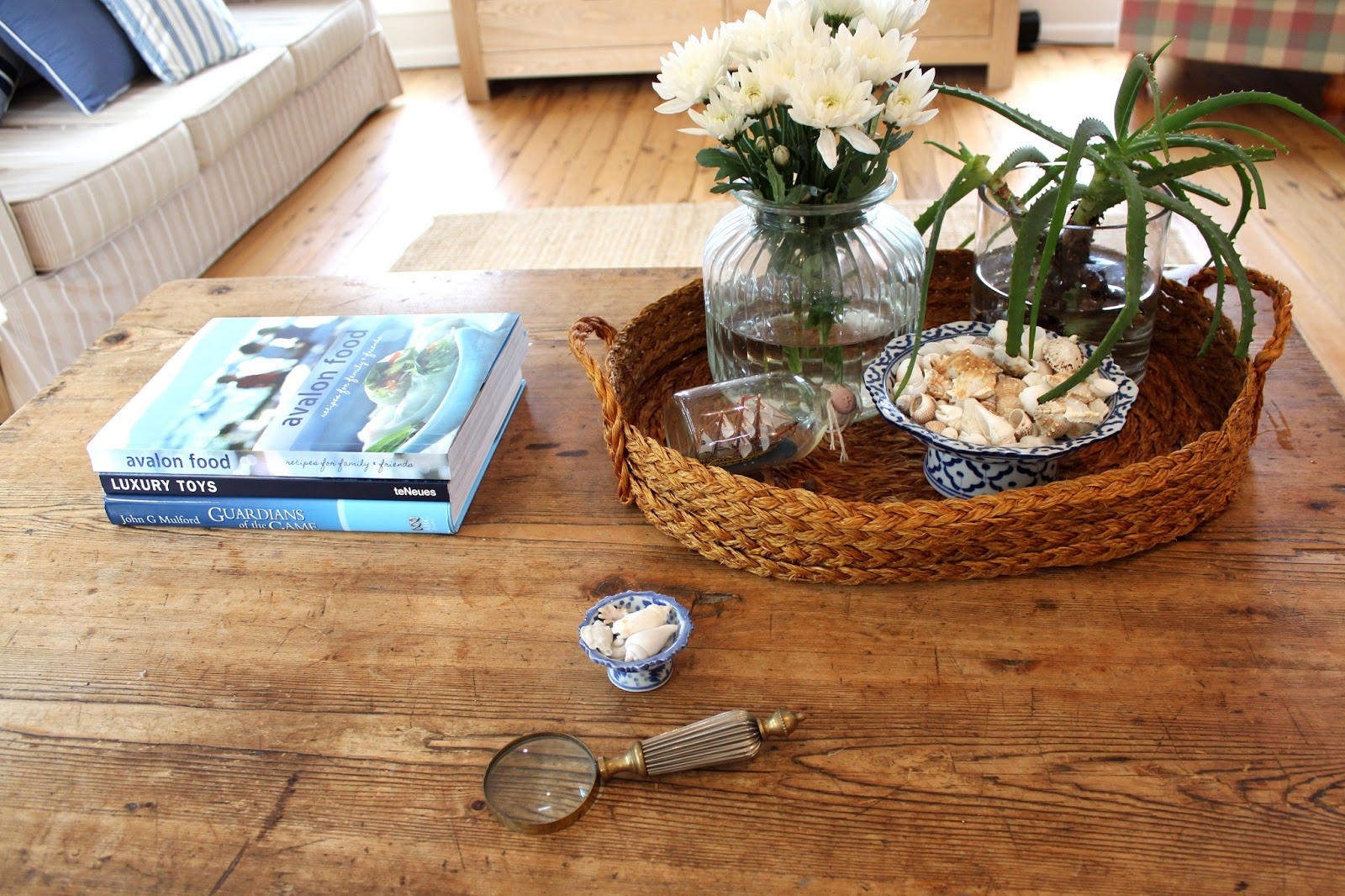 Beach House Decor Styling A Coffee Table Desire Empire