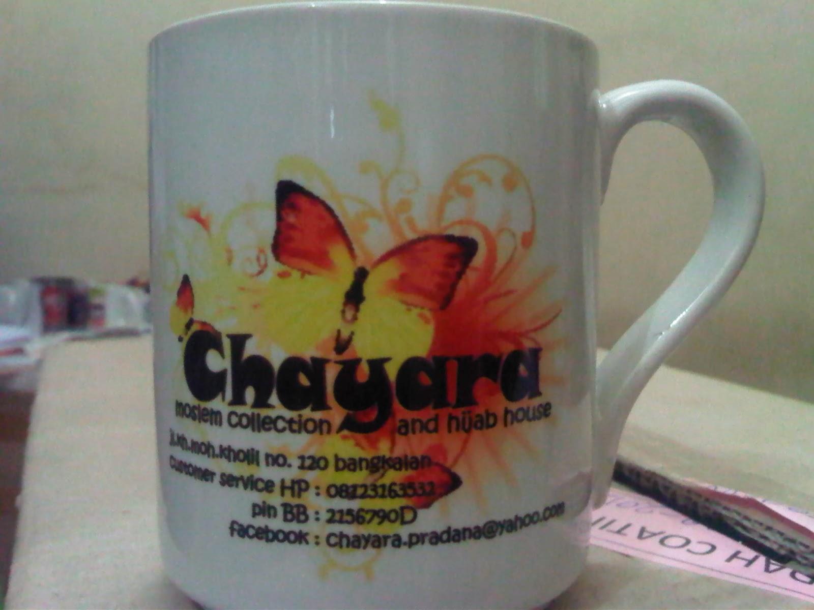 mug dan gelas souvenir