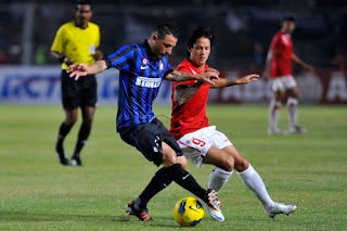 Hasil dan Video INTER MILAN VS TIMNAS U23  Friendly Match 26 Mei 2012