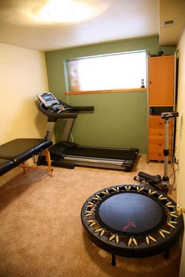 Home Gym Workout Spaces | Rachel Olsen