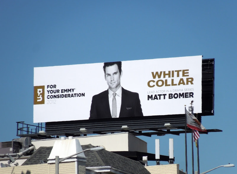 Matt Bomer White Collar Emmy 2012 billboard