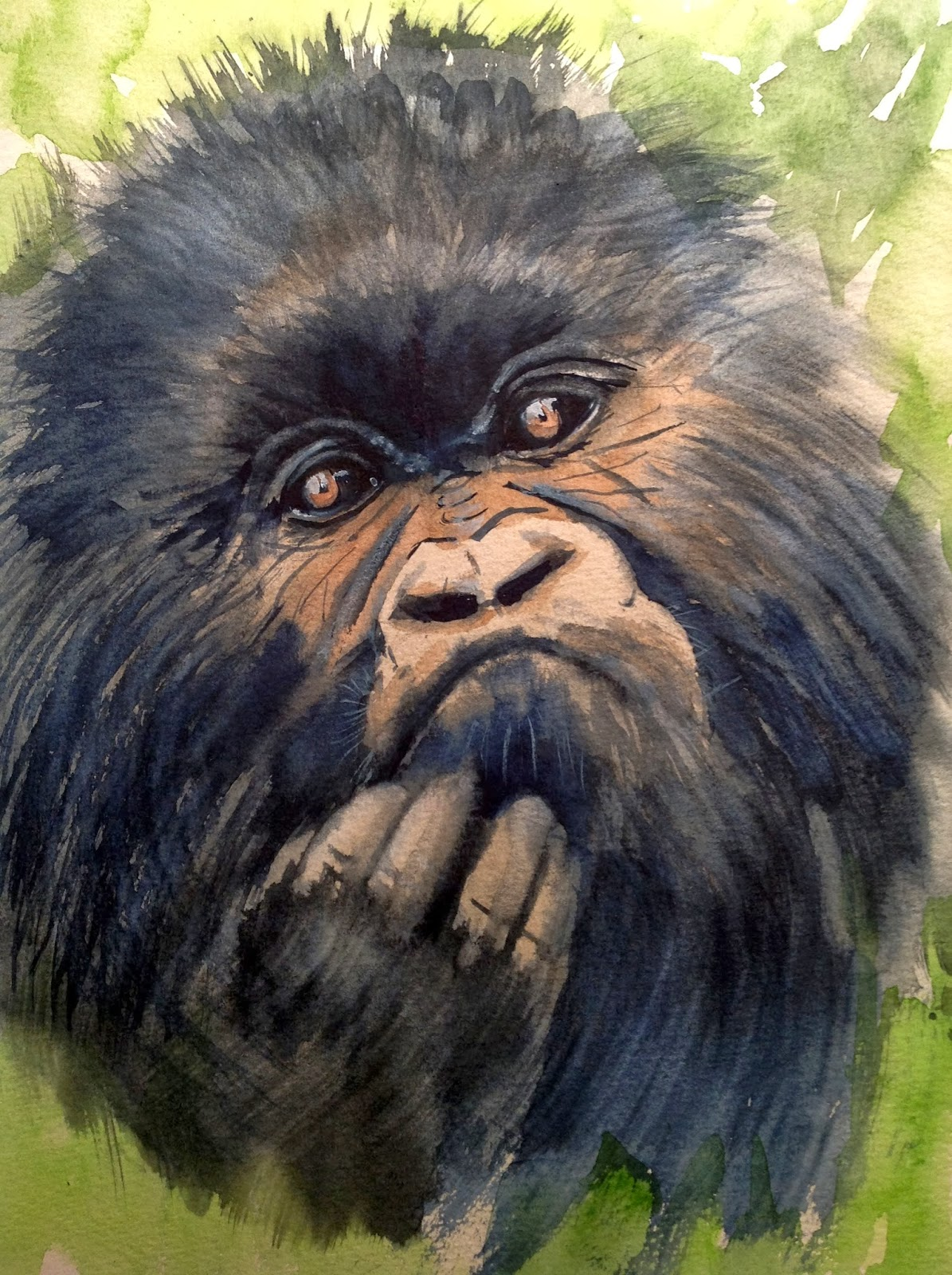 Antonia del olmo gorilas en la niebla for Gorilas en la niebla