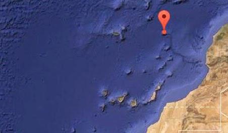 Terremoto norte Canarias noviembre 2014