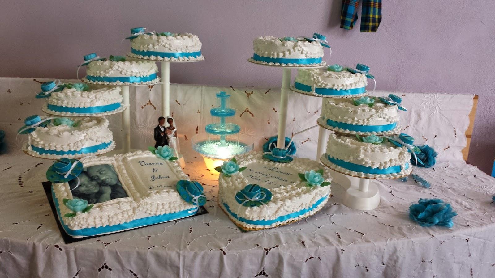 La Pâtisserie de Brunette: Gâteau Mariage Antillais