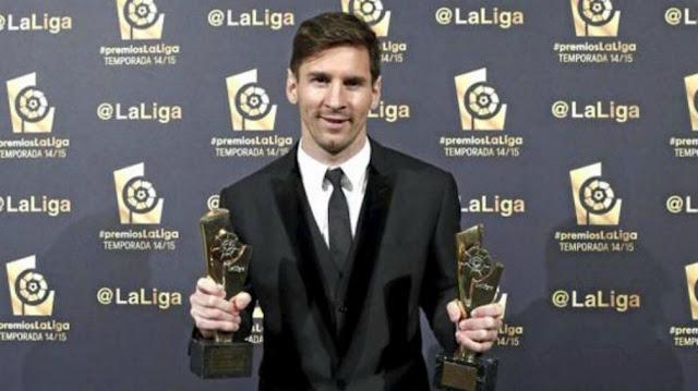 lionel messi el mejor jugador de la liga española 2015