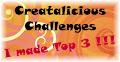5 x Creatalicious Top 3