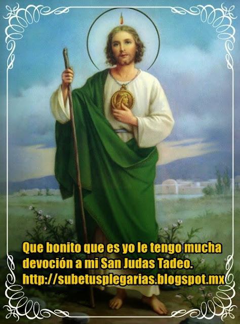 Subetusplegarias: Oraciones Desde El Alma Para San Judas Tadeo
