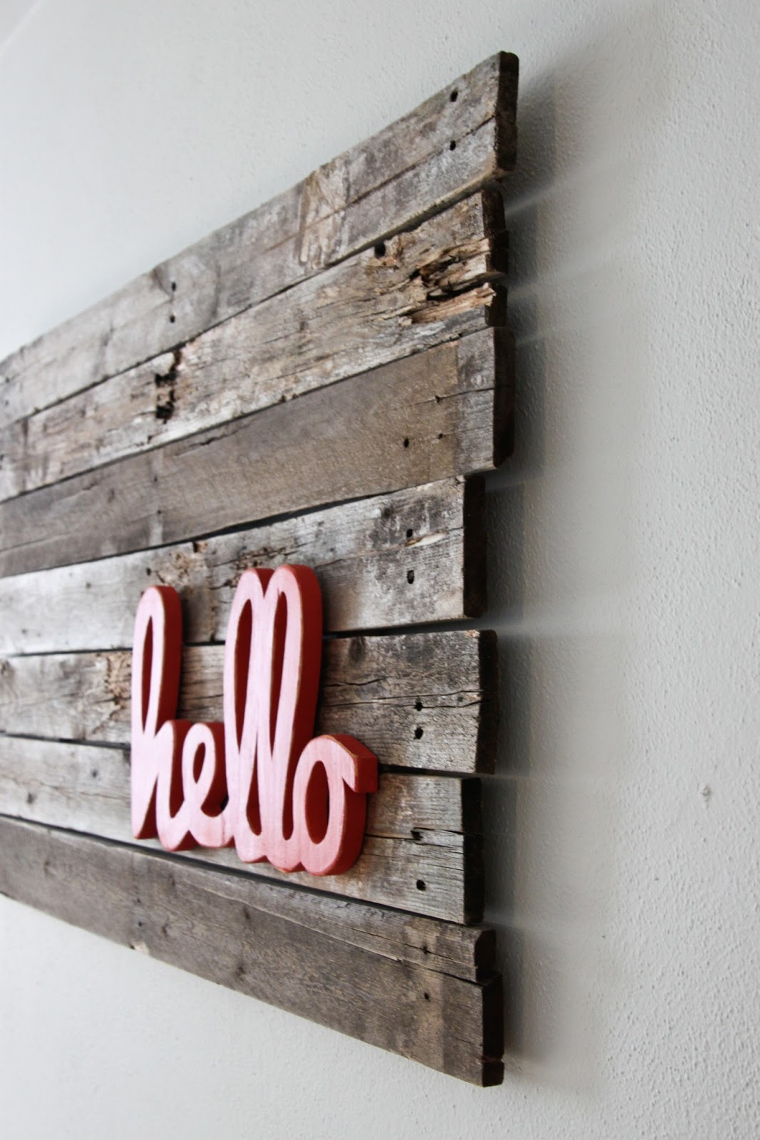 Wooden Words Wall Art : Wooden word decorations for walls modern home exteriors