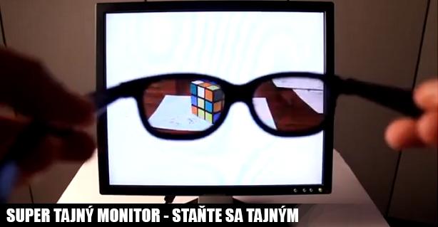 tajny monitor