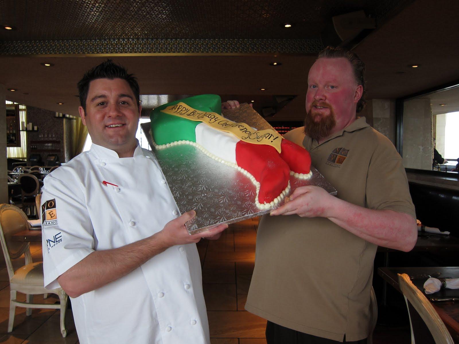 "9 Group Staff Surprises Chef Geno and Mixologist Jack ""Sugar"" O ..."