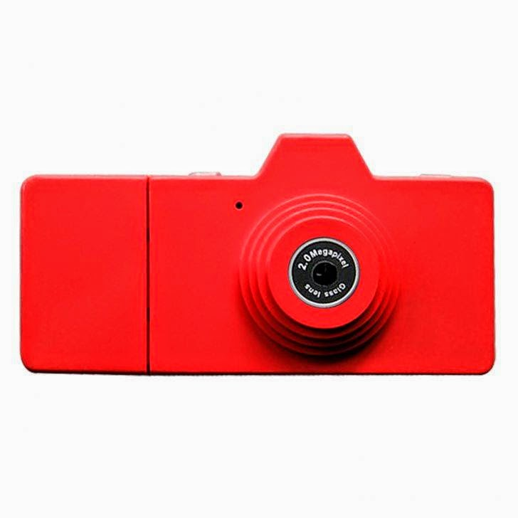 Eazzzy Mini Camera - 2 MP - Merah