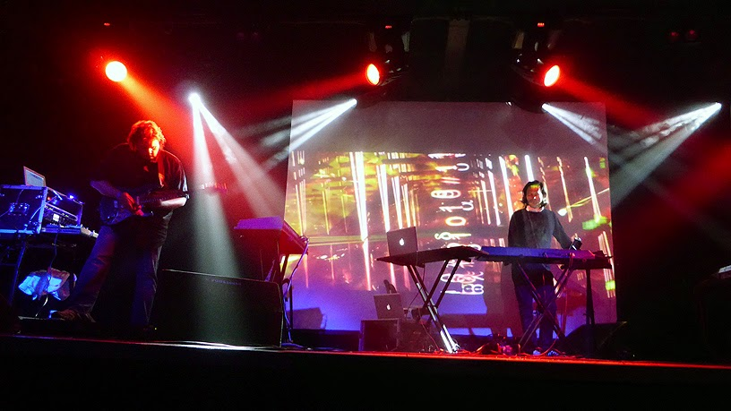 Jerome Froese & Loom live @ Electronic Circus 2014 : Jerome Froese, Robert Waters / photo S. Mazars