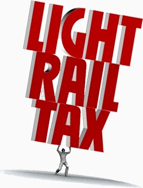 Light Rail Tax burden