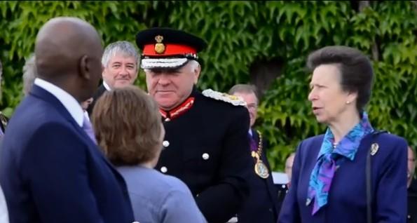 Her Royal Highness The Princess Royal Visits Lincoln Castle