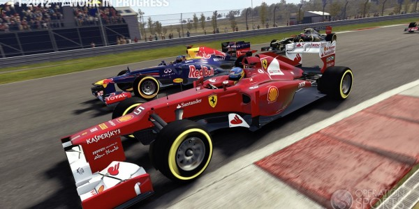 Alonso y vettel dandolo todo en el nuevo F1 simulator