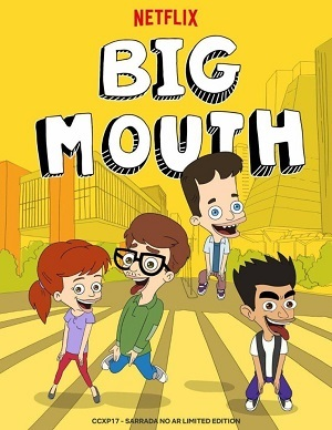 Big Mouth - 2ª Temporada Netflix Desenhos Torrent Download completo