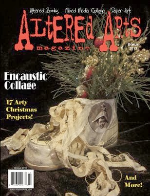 Altered Arts Magazine, Christmas Issue 2013