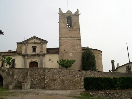 L'església de Sant Andreu de Gurb