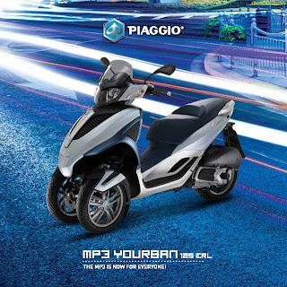 motor tiga roda piaggio mp3 yourban