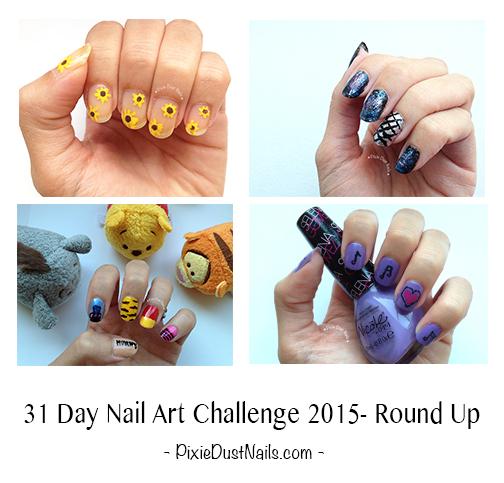 31 Day Nail Art Challenge 2015- Round Up