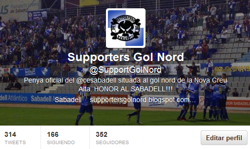 Twitter Oficial Supporters Gol Nord