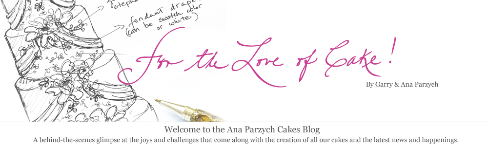 For the Love of Cake! by Garry & Ana Parzych