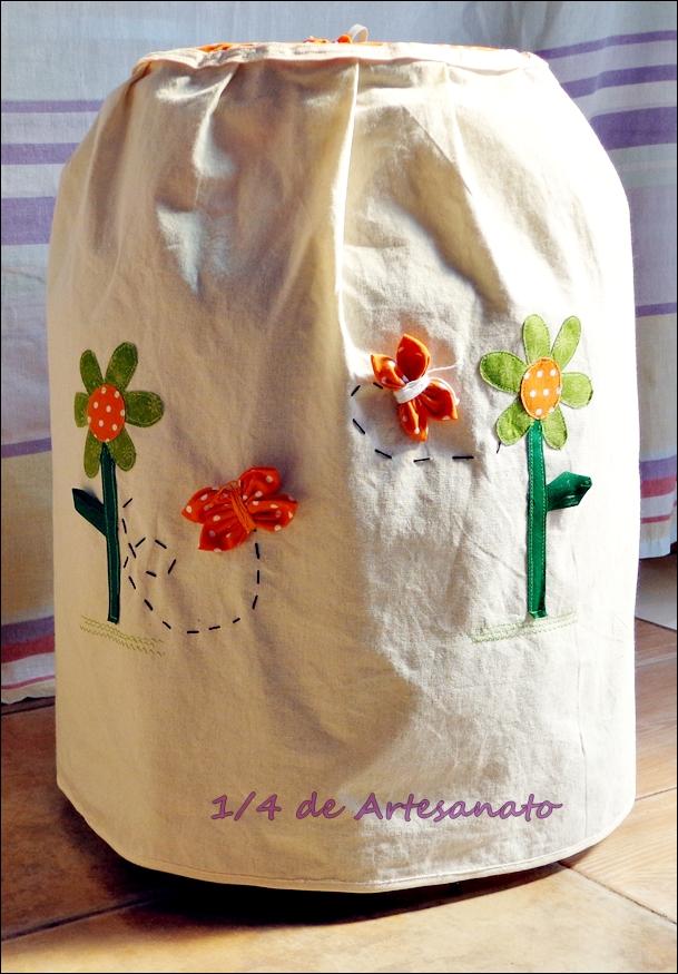 Bolsa Em Algodão Cru Passo A Passo : De artesanato abril