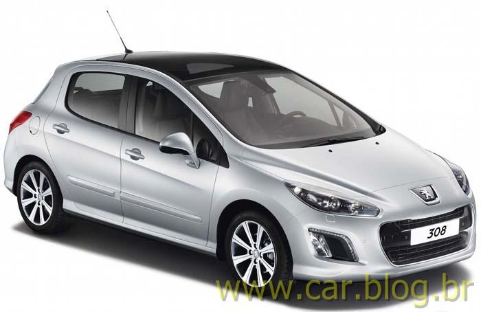 Novo Peugeot 308 2012 - Brasil