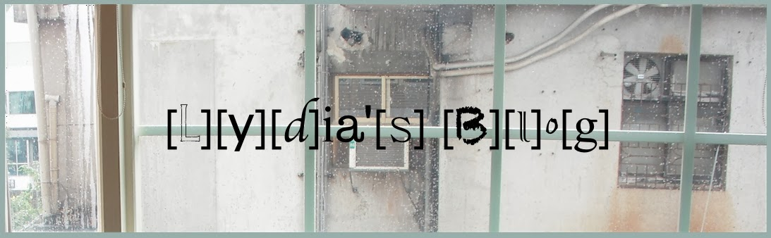 Lydia's Blog