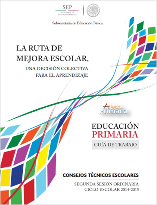 Guía de Trabajo ~ Segunda Sesión | Consejo Técnico Escolar ~ Fase Ordinaria