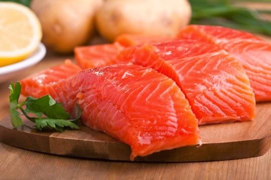 Cá hồi là loại thực phẩm rất tốt cho khả năng sinh sản