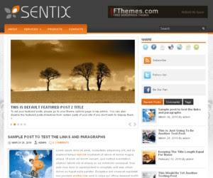Sentix WordPress Theme