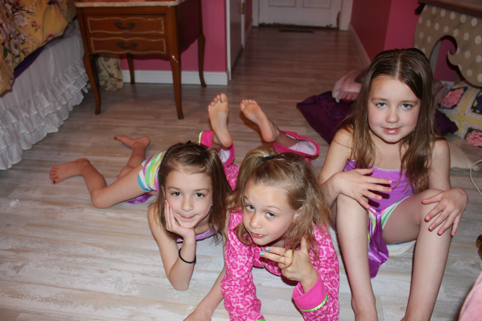 nude little girls at sleepover