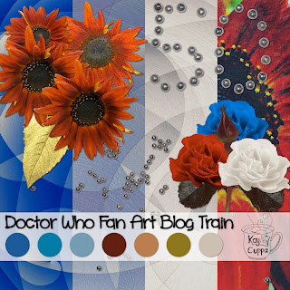 Doctor Who Blog Train Kaytea Cuppa