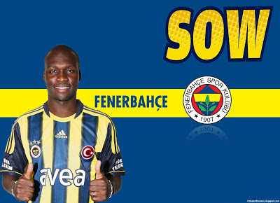Moussa Sow Senegalese Goal Machine Super Striker Fenerbahçe Turkey Hd Desktop Wallpaper 3