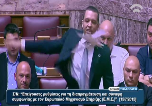 Ηλίας Κασιδιάρης: «ΟΧΙ στο τρίτο Μνημόνιο - Η Ελλάδα ανήκει στους Έλληνες!»