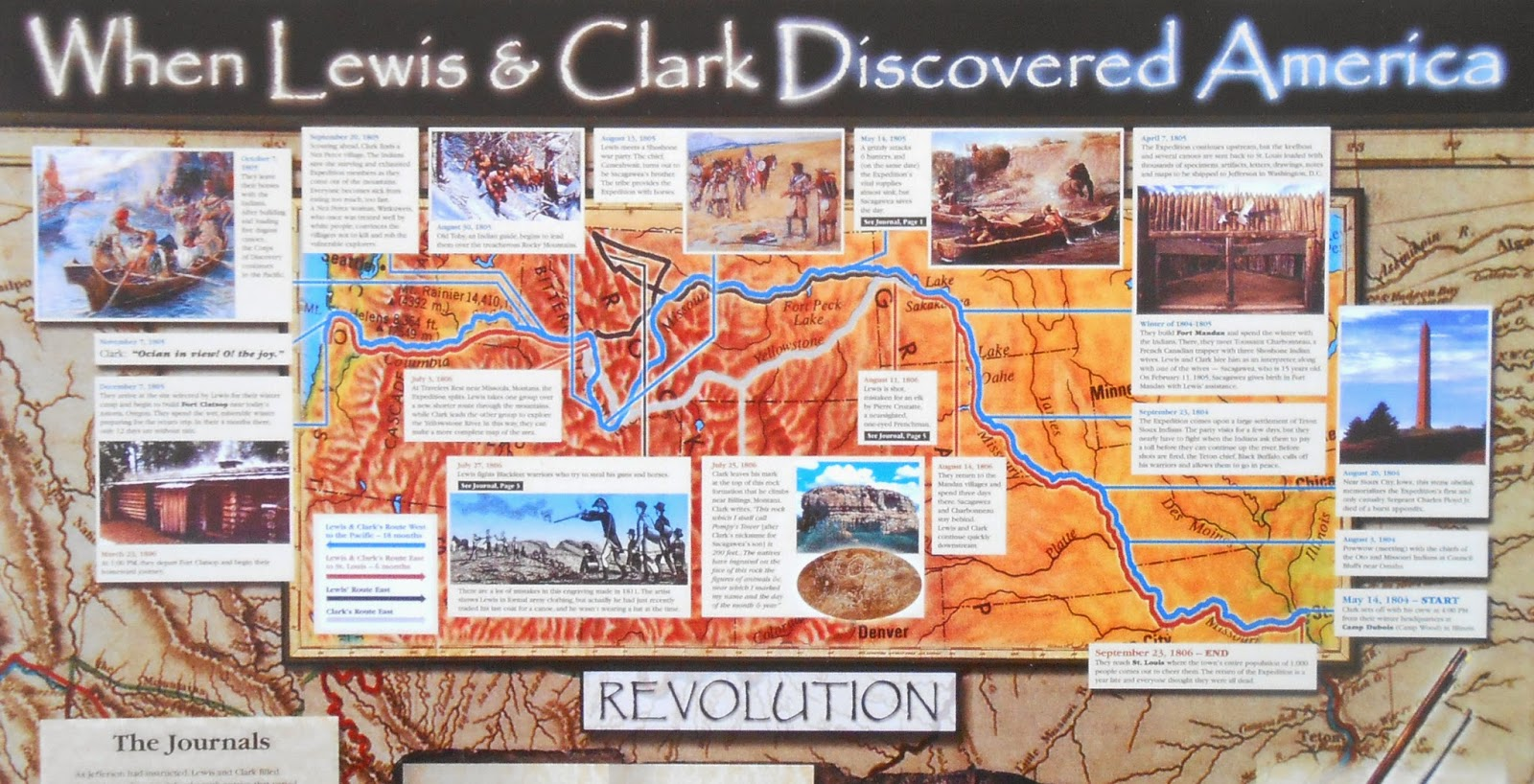 An Artists Life Digitized Process Paper Lewis  Clark Exhibit - Map of the united states before lewis and clark