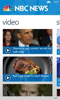 NBC News for Windows Phone