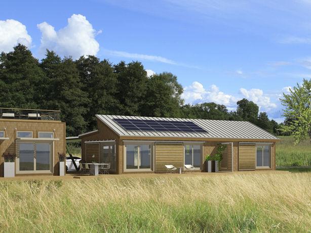 Energia eolica y aerogeneradores casas ecologicas - Casas de madera ecologicas espana ...