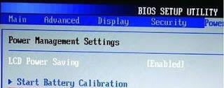 battery, BIOS, calibration