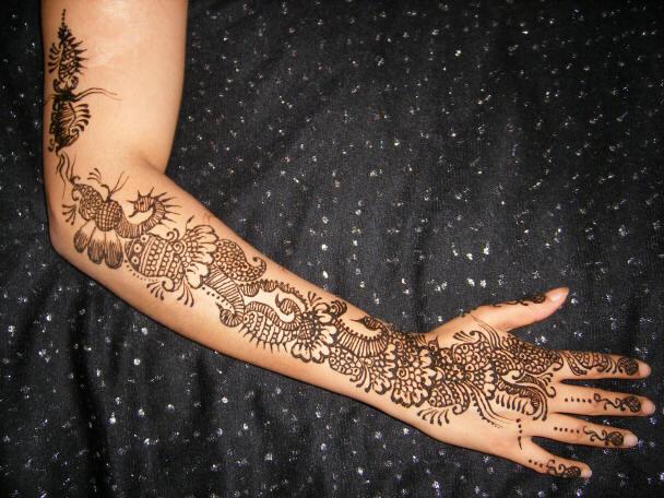 Cool Mehndi Patterns : Cool mehndi designs on back hand design