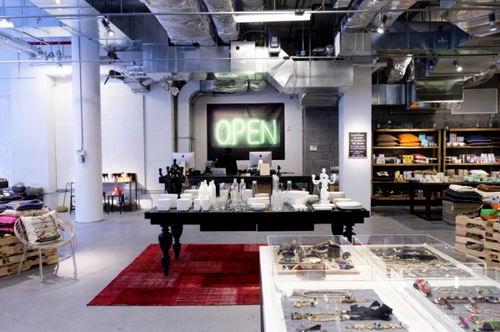 Treasure&Bond the Charity Store Design open light