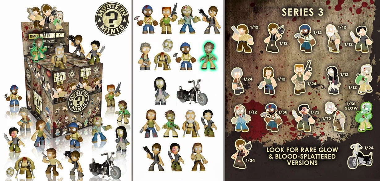Walking Dead Series 3 Mystery Minis