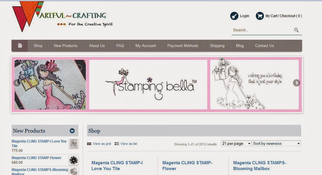Artful Crafting Online Store
