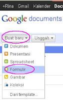 Cara Membuat Contact Form  dengan Google Docs | Halaman Kontak