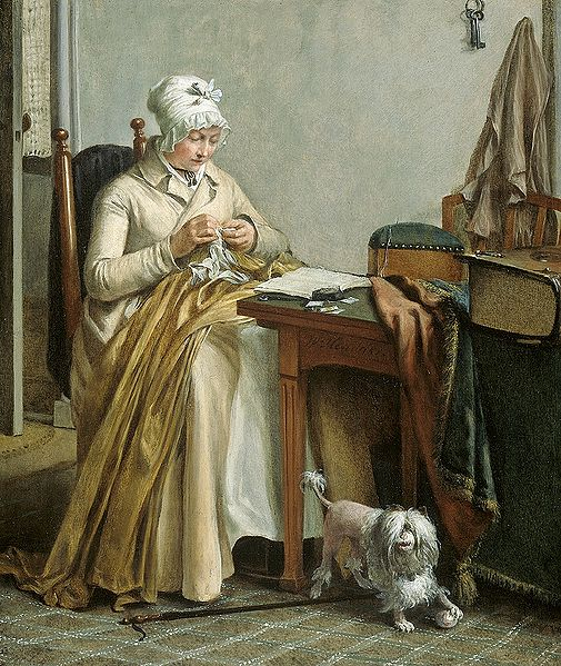 1800 S Colonial Scene On Demand: Isis' Wardrobe: The Joys Of Hand Sewing